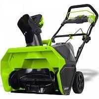 Снегоуборщик аккумуляторный GreenWorks GD40SB (2600007)