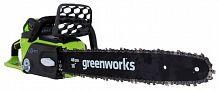 Пила аккумуляторная GreenWorks GD40CS40 2.0Ah x2