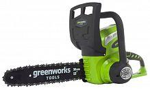 Пила аккумуляторная GreenWorks G40CS30K2