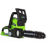 Пила аккумуляторная GreenWorks G24CS25 24V с аккумулятором и зарядным устройством