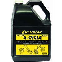 Масло 4-х тактное Champion SAE-30 минеральное 4л