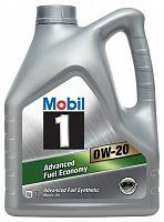 Масло синтетическое Mobil 1 0W-20 4 л