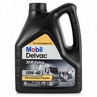 Масло 4-х тактное Mobil Delvac XHP Extra 10W-40 синтетическое моторное (4л)