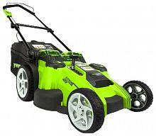Газонокосилка аккумуляторная GreenWorks G-Max 40V 49 cm 3-in-1 (2500207)