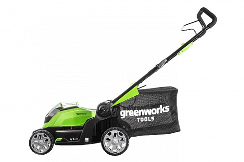 Газонокосилка аккумуляторная Greenworks G40LM41K3