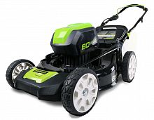 Газонокосилка аккумуляторная GreenWorks GD80LM51 (2500707)