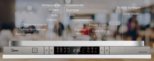 Встраиваемая посудомоечная машина Midea MID60S900 фото 9