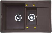 Кухонная мойка Zigmund & Shtain Rechteck 780.2 швейцарский шоколад