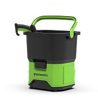 Мойка высокого давления GreenWorks 40В без аккумулятора и зу