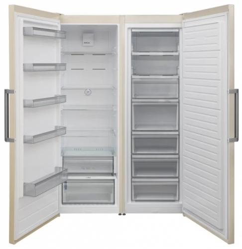 Холодильник Jackys JLF FV1860 Side by Side бежевый фото 2
