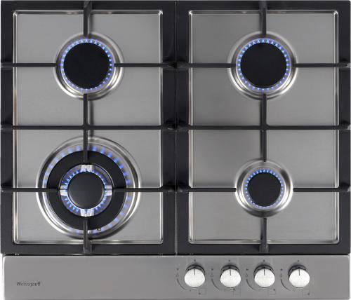 Встраиваемая газовая варочная панель Weissgauff HGG 641 XH фото 2
