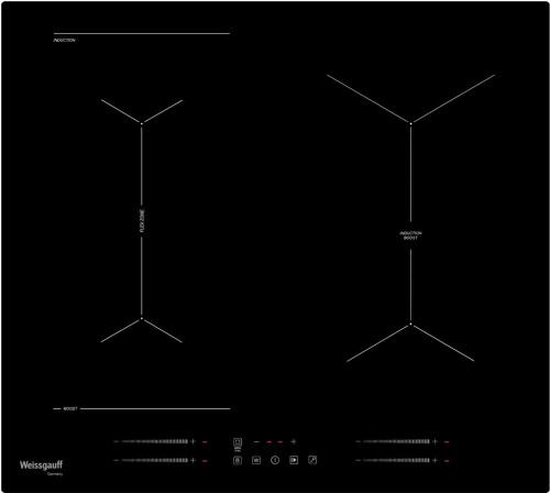 Встраиваемая индукционная варочная панель Weissgauff HI 643 BY фото 2