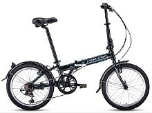 Велосипед Forward ENIGMA 20 2.0 (2020-2021) 20 7 ск 11 1BKW1C407002 черный/белый