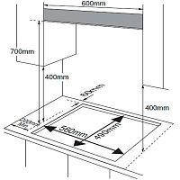 Варочная поверхность Midea MG696TRGB-S