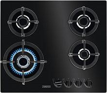 Встраиваемая газовая варочная панель Zanussi GPZ363LK черный