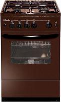 Газовая плита Лысьва ГП 400 М2С-2у коричневый со стеклянной крышкой