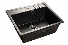 Кухонная мойка GranFest Quadro GF-Q-560 черный