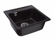 Кухонная мойка GranFest Quarz GF-Z48 черный