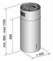 Островная вытяжка Korting KHA 4970 X Cylinder