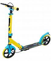 Самокат Ridex Rank желтый/голубой
