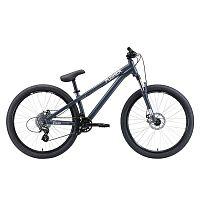 Велосипед Stark 2020 Pusher-1 S серый/серебристый (H000014185)