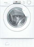 Встраиваемая стиральная машина с сушкой Korting KWDI 1485 W