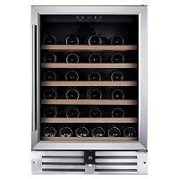 Встраиваемый винный шкаф Temptech VWCR46SS