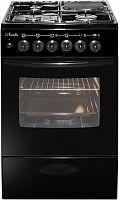 Комбинированная плита Лысьва ЭГ 1/3г01 МС-2у черный (стеклянная крышка)