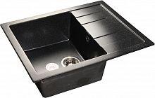 Кухонная мойка GranFest Quadro GF-Q-650L черный