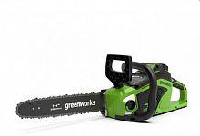 Цепная пила аккумуляторная GreenWorks GD40CS15K4 (2005707UB)