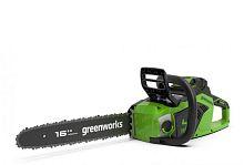 Цепная пила аккумуляторная GreenWorks GD40CS18K2 (2005807UA)