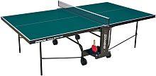 Стол теннисный Donic Indoor Roller 600 зеленый