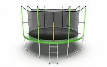 Батут Evo Jump Internal 12ft Green Lowernet + сетка