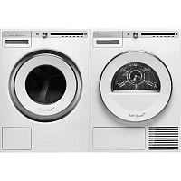 Комплект стиральной и сушильной машины Asko W4114C.W + T411HD.W