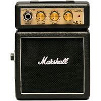 Комбоусилитель Marshall MS-2 Micro AMP