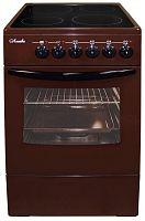 Электрическая плита Лысьва EF4002MK00 коричневый